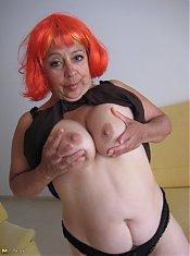 This horny european mature slut loves to play