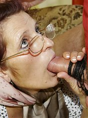 Granny loves a younger cock to fill her up