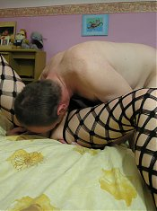 This horny red mature slut loves the cock